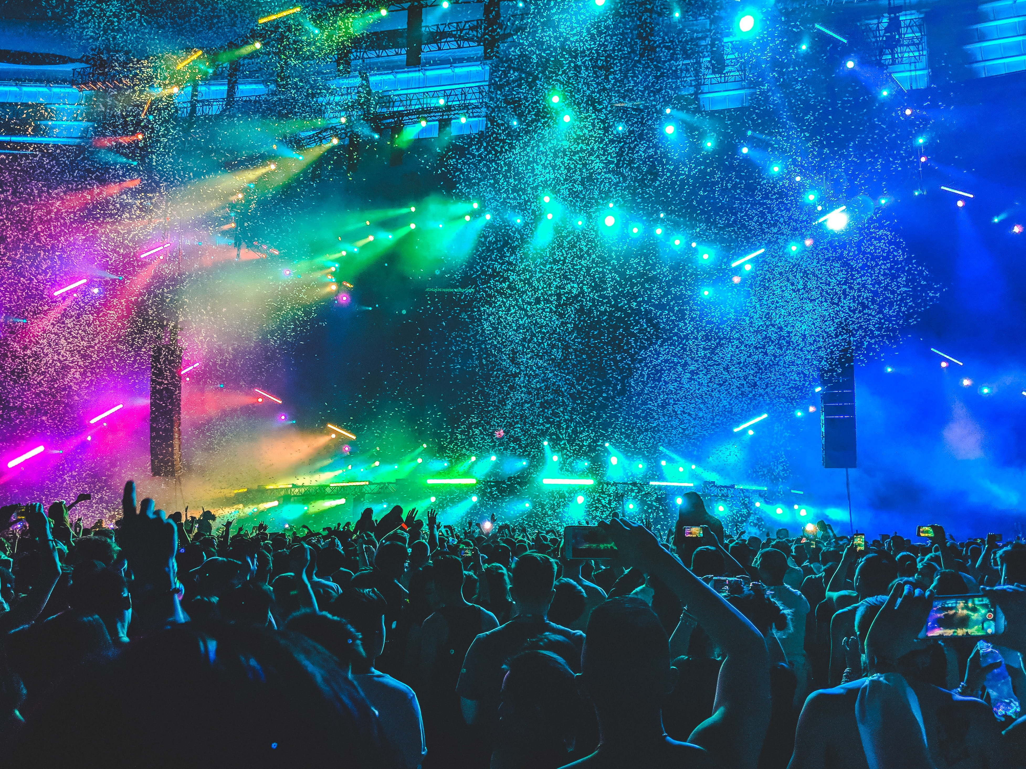 colourful concert