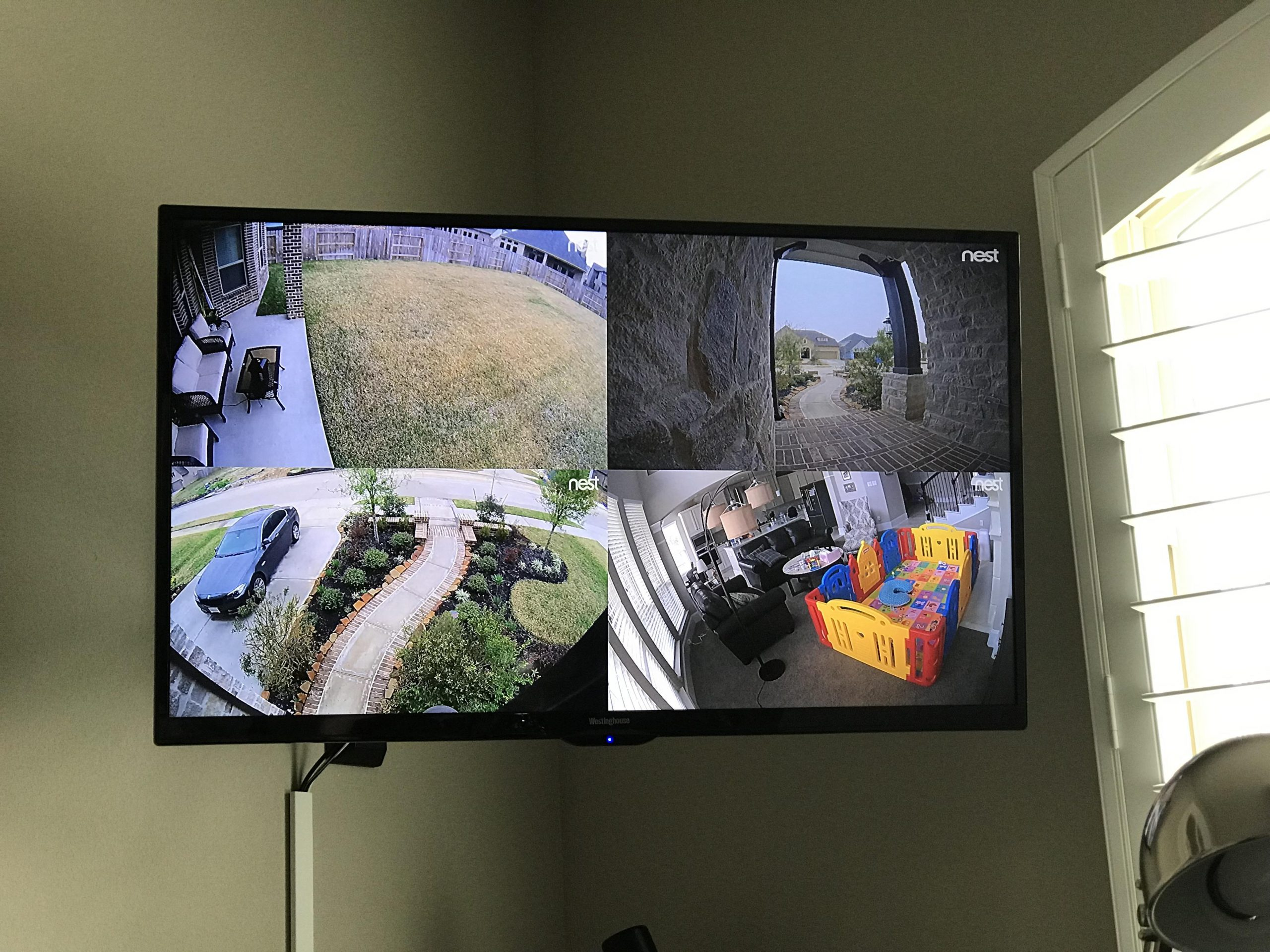 Feel More Secure with Nest Cams