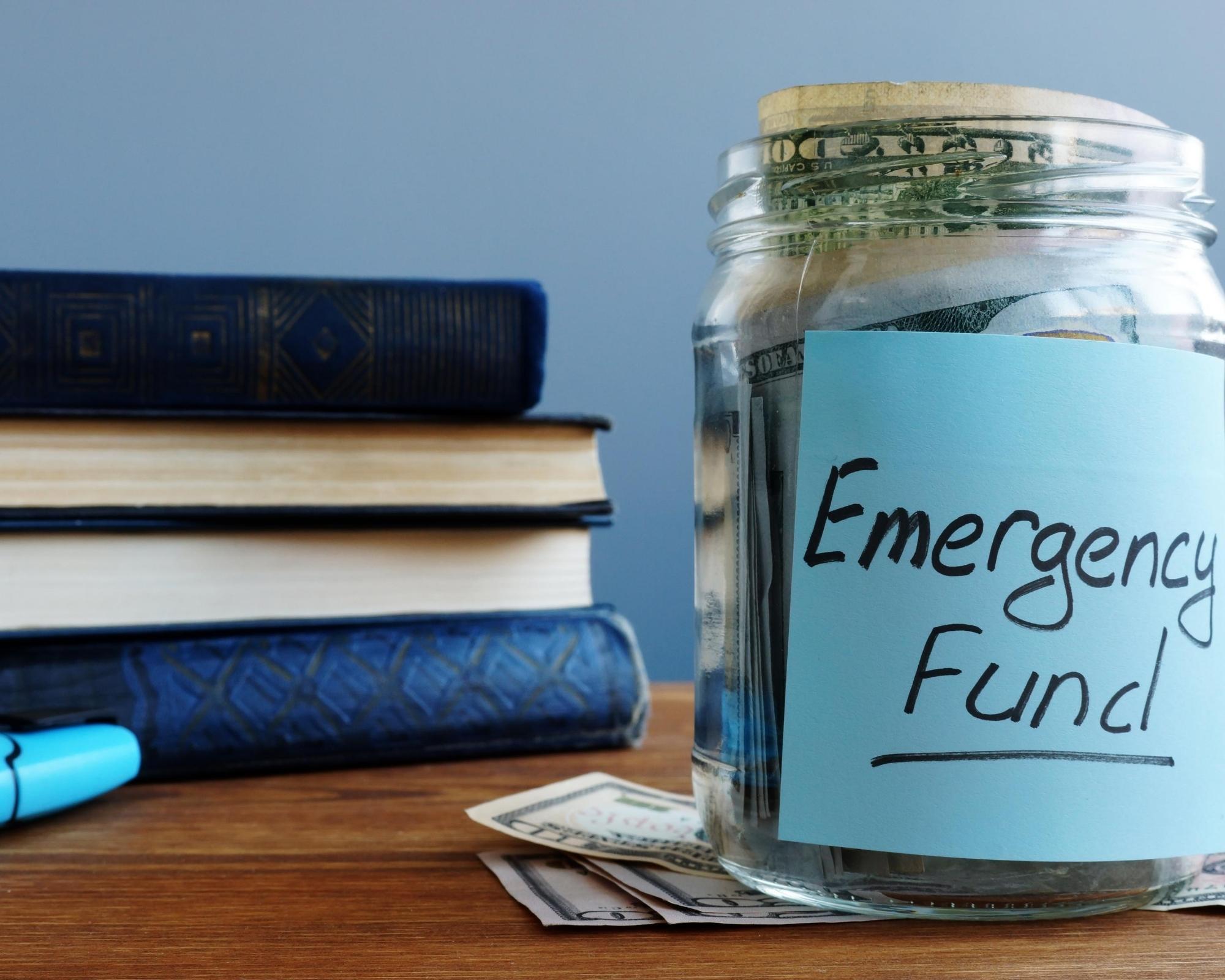 emergency fund jar